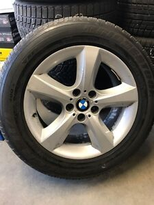 Bmw tired and wheels. 255-55-18