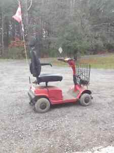 Four wheel handicapped electric scooter Kawartha Lakes Peterborough Area image 2