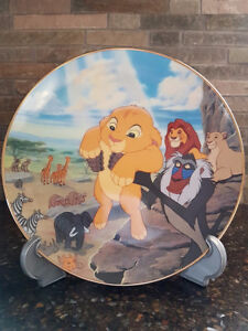 "The Lion King ""THE CIRCLE OF LIFE"" collector plate"