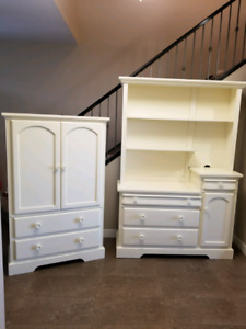 Canadian made armour and dresser drawer/ hatch