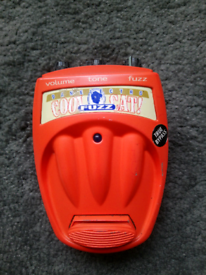 Danelectro Cool Cat Fuzz guitar effects pedal