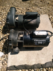 Waterway Executive 56 pool and spa pumps