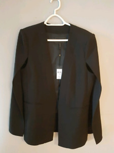 BCBG Cape blazer new with tags size Large