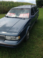 Classic 1989 Oldsmobile Cutlass Cruiser SL International Series