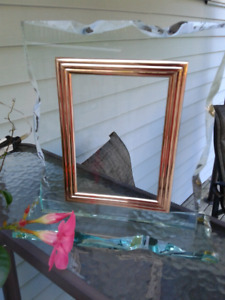 Handmade Beautiful glass picture frame