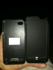 iPhone 4/5 power cases.