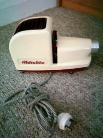 Vintage Aldislite slide projector &case £10.00