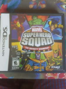 Super Hero Squad The Infinity Gauntlet Video Game DS