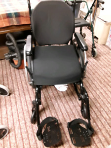 Large wheel chair have to  take seat and back off