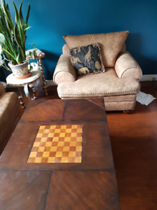 Sofa Set and Coffee/ Games Table - $500!