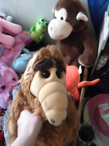 Plush Alf from the show