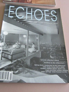 Four ECHOES magazines