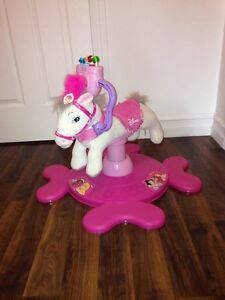 Disney princess bounce and rotate horse