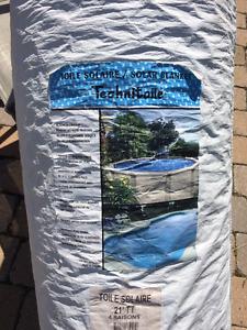 Toile solaire pour piscine / TechnitPool Solar Cover