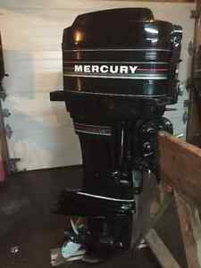 Mercury 50hp pied long