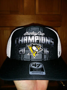 Pittsburgh Penguins 2016 Stanley Cup Champions Hat