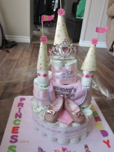 Diaper Cakes and baby shower gifts