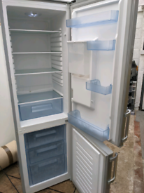 Fridge freezer, silver, with water dispenser £120