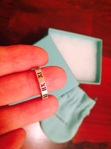 Tiffany Atlas Ring – Size 8 Peterborough Peterborough Area image 2