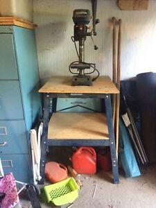 "8"" drill press on stand"