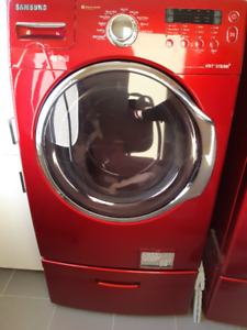 Red hot chili Washer+Dryer /  Laveuse+Secheuse Piment Fort