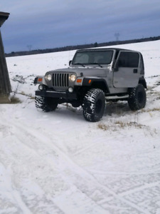 Recherche Jeep TJ pour pieces   Looking for TJ