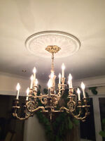 Classic brass Chandelier for dining room