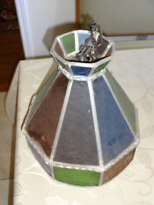 SMALL TIFFANY STYLE CEILING FIXTURE LAMP $50 OBO