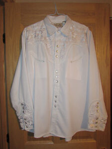 chemise blanche country