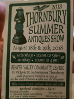 Thornbury antique show