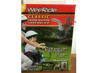 WeeRide Classic Front Child Bike Seat - Grey/Red