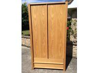 Solid wood (oak) wardrobe