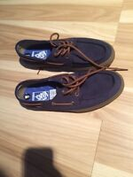 Need Gone! Vans boat shoes size 9