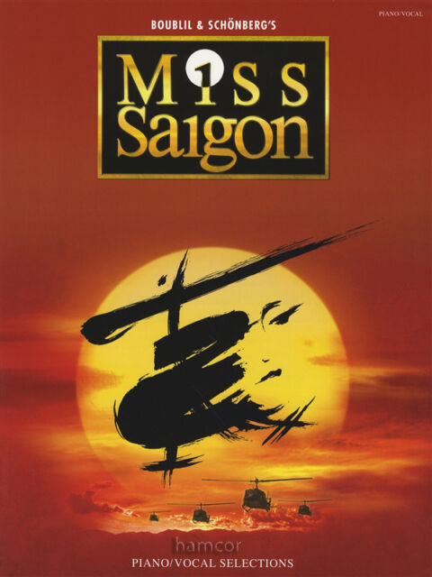 Miss Saigon Piano Vocal Guitar Sheet Music Book