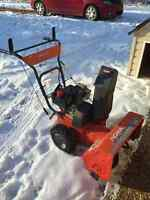 Old snowblower for free