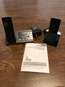 Panasonic Premium Design Cordless Phone with Smartphone Connect