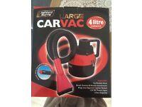 Car vacuum brand new