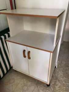 Kitchen stand for microwave