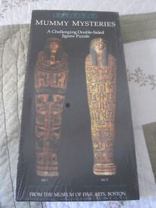 Egyptian puzzle of Mummies Mysteries   (content sale)