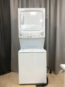 "2yr old 27"" GE space saver laundry centre +warranty for sale"