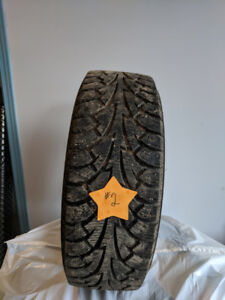 USED WINTER TIRES - 14 INCH SIZES