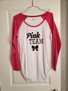Pink Team Maternity Shirt