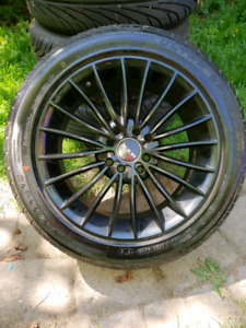 Rims for any 4x100 bolt pattern Honda civic 90s-2005 fits other