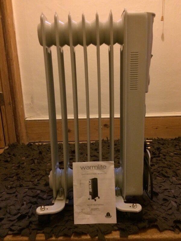 Portable Heater, Oil filled Radiator