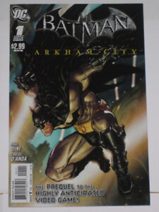 Batman: Arkham City#s 1,2,3,4 & 5 Joker! (complete!) comic book