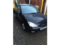 2002 focus 1.6 petrol 4 door alloys 96k miles