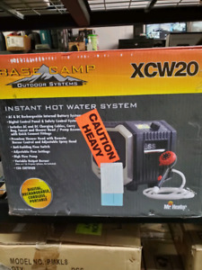 Base camp instant hot water system