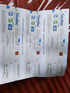 Similac Gift Cheques