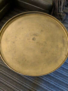 Stylish Indian Brass and Metal Coffee Table