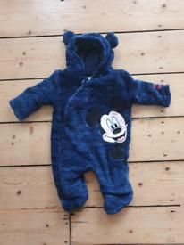 Disney Newborn snowsuit up to 3 months
